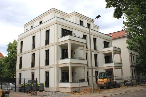 Neubau in der Bleichertstraße 13