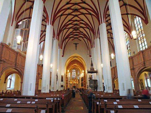 Innenansicht der Thomaskirche