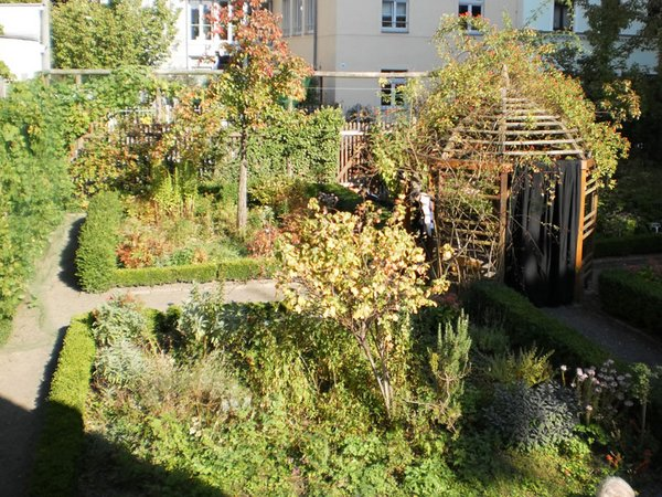 Garten des Schillerhauses, Foto: Stadtgeschichtliches Museum Leipzig