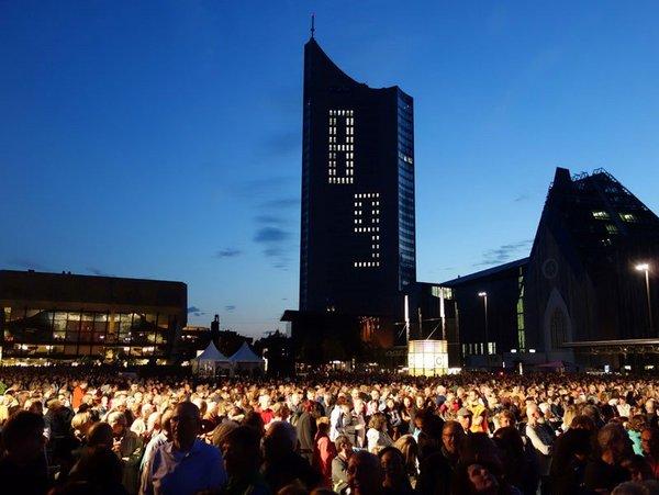 Lichtfest Leipzig, Foto: Westend-PR (Grundmann)