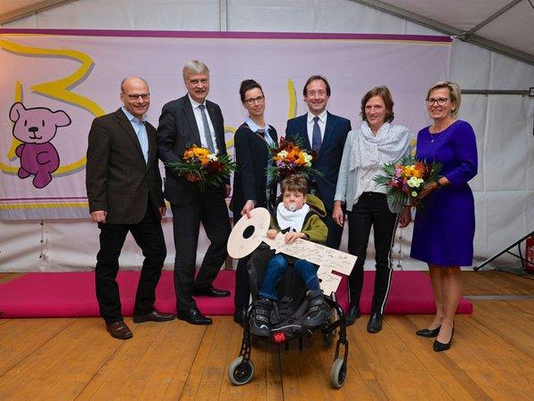 Eröffnung neuer Räume, Foto: Rico THUMSER / Bärenherz Leipzig
