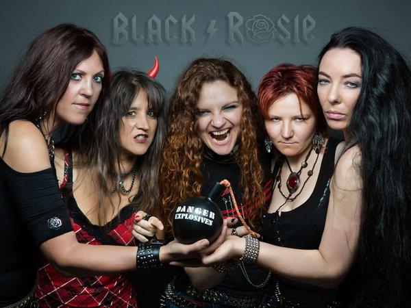 BLACK/ROSIE