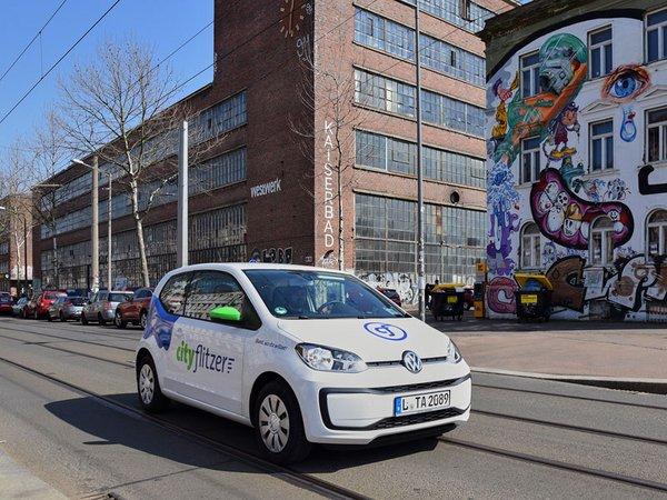 Cityflitzer unterwegs im Leipziger Westen, Foto: Mobility Center GmbH