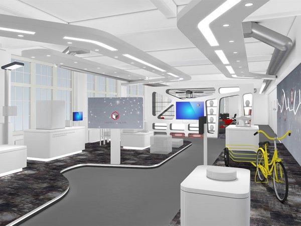 Entwurf des neuen Logistics Living Lap der Universität Leipzig, Fotoe: Sterntaler Design Consult GmbH