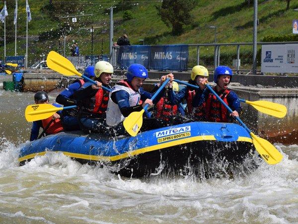 MITGAS Schüler-Rafting, Foto: Kanupark Markkleeberg