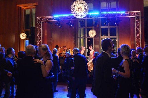 Silvesterfeier in der Oper Leipzig
