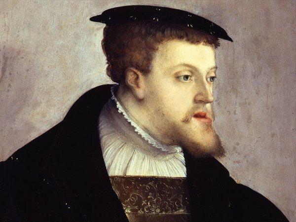 Abbildung: Christoph Amberger (um 1532): Kaiser Karl V. (1500–1558). Gemäldegalerie, Staatliche Museen zu Berlin, Preußischer Kulturbesitz, Foto: Jörg P. Anders