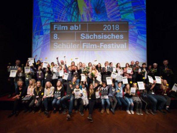 Film ab! Preisträger 2018, Foto: Film ab! Schülerfilmfestival Sachsen