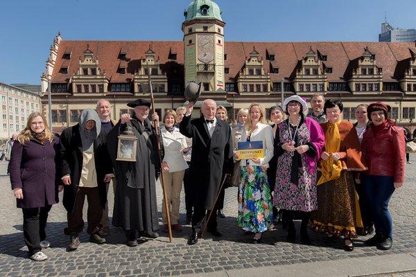 Das Team von Treffpunkt Leipzig