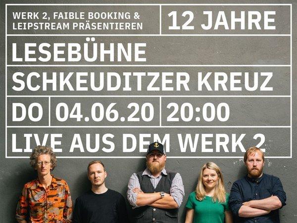 12 Jahre Lesebühne Schkeuditzer Kreuz, Foto: Enrico Meyer / Grafik: Büro 222