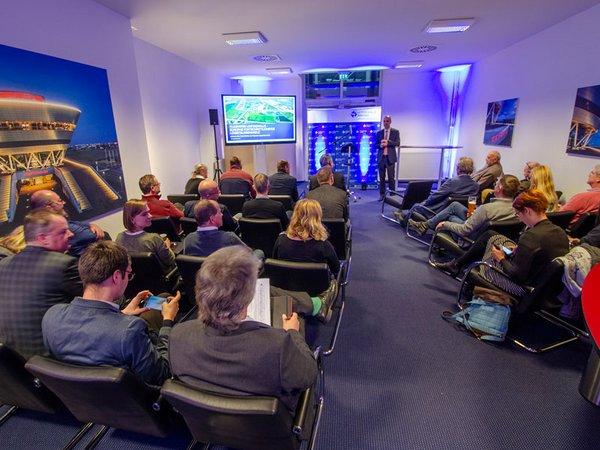 Netzwerkabend am Leipzig/Halle Airport, Foto: Netzwerk Logistik Mitteldeutschland