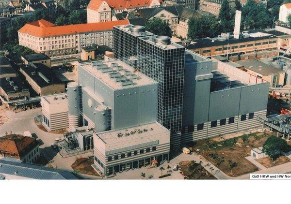 GuD nach Fertigstellung 1992