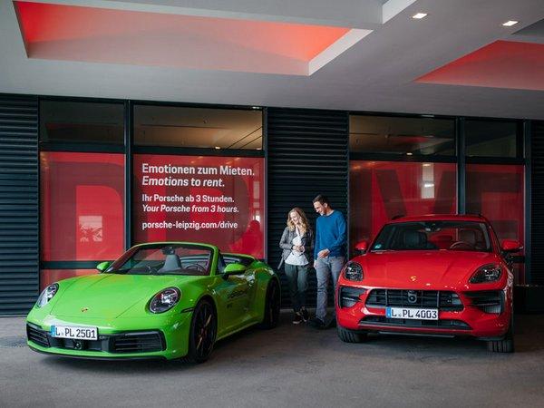 """""""Porsche Drive"""" im Kundenzentrum des Leipziger Werks, Foto: Porsche AG"""