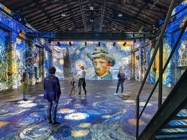 VAN GOGH experience - Die neue multimediale immersive 360° Show, Foto: Kunstkraftwerk Leipzig