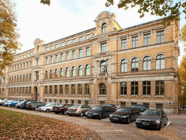 Wiener-Bau der HTWK Leipzig, Foto: Swen Reichhold