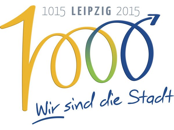 Logo 1000 Jahre Leipzig 2015