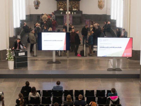 Dies academicus 2017 im neu eröffneten Paulinum, Foto: Christian Hüller / Universität Leipzig