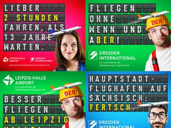 Neue Werbe-Kampagne, Foto: Mitteldeutsche Flughafen AG
