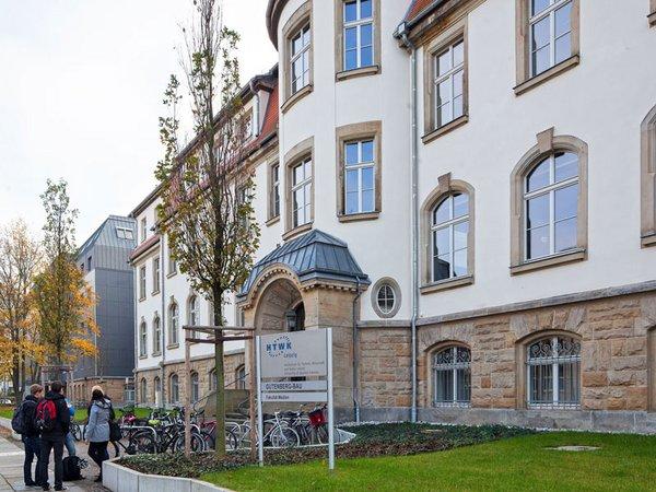 Gutenberg-Bau der HTWK Leipzig
