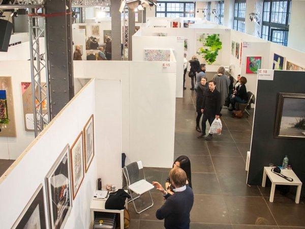 Kunstmesse Leipzig 2017, Foto: AFS Art Fair Services UG
