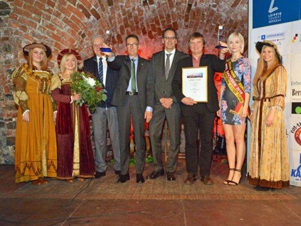 Übergabe Leipziger Tourismuspreis 2015