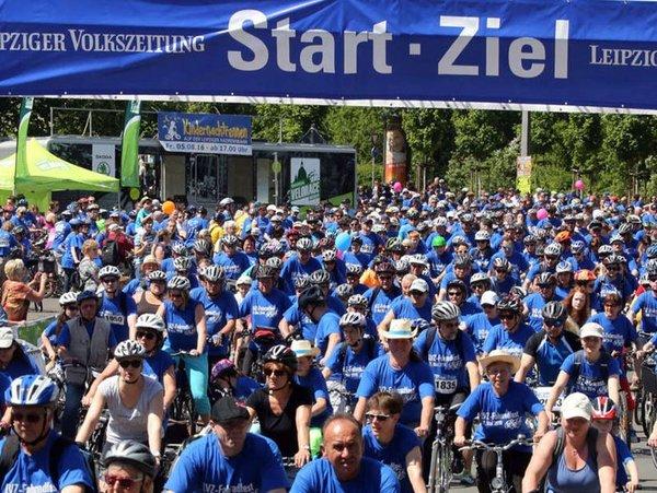 LVZ-Fahrradfest, Foto: André Kempner (LVZ)