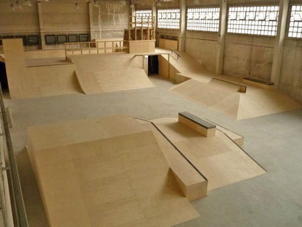Skatehalle im Heizhaus Leipzig, Foto: urban souls e.V.