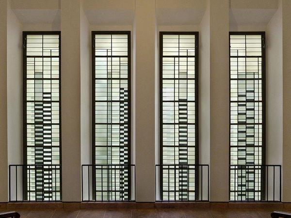 Grassimuseum Leipzig: Albers-Fenster, Foto: Uli Kühnle