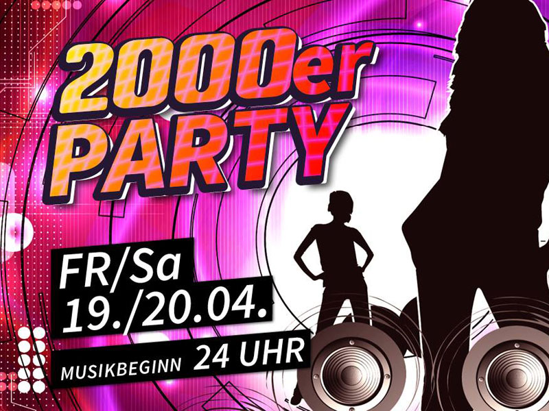 2000er Party am 19.04.2019 in Leipzig - LEIPZIGINFO.DE